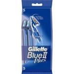 Одноразовые станки бритвы Gillette Blue 2 Plus (5 шт)