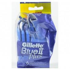 Одноразовые станки бритвы Gillette Blue2 Plus (6 шт)