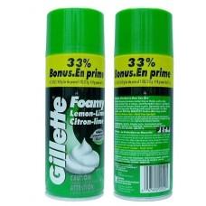 Пена для бритья Gillette Foam Lemon Lime 418 мл