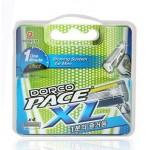 Сменные кассеты картриджи для бритья Dorco Pace 6 Plus (4 шт)