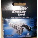 Сменные кассеты картриджи для бритья Gillette Sensor 5 шт русская версия
