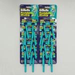 Станки одноразовые бритвенные Gillette Prestobarba Ultragrip 2 лезвия (24 шт)
