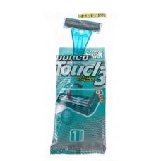 Станок одноразовый для бритья Dorco Touch 3 лезвия (1 шт)
