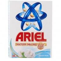 Стиральный порошок Ariel Чистота Deluxe Белая роза 450 гр