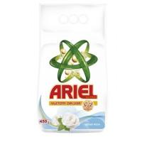 Стиральный порошок Ariel Чистота Deluxe Белая роза-зеленый 450 гр