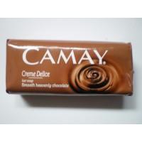 Туалетное мыло Camay (Бархатный шоколад) Cream Delice 100 гр