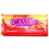 Туалетное мыло  Camay Dynamique Бодрящий аромат розового грейпфрута 100 гр