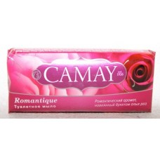 Туалетное мыло Camay Романтический аромат навеянный букетом алых роз 100 грамм.