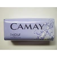 Туалетное мыло Camay Свежесть Голубого лотоса DEJOUR Cool Blue Lotus 100 гр