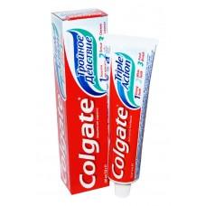 Зубная паста Colgate 100 мл Triple action тройное действие