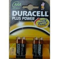 Батарейки Duracell LR03/MN2400 AAA EU упаковка 4 шт