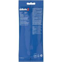 Одноразовые станки бритвы Gillette 2 лезвия (5 шт.) купить оптом