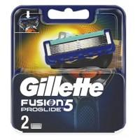 Сменные кассеты картриджи для бритья Gillette Fusion5 Proglide, 2 шт