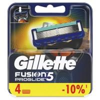 Сменные кассеты картриджи для бритья Gillette Fusion5 Proglide, 4 шт