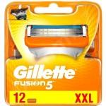 Сменные кассеты картриджи для бритья Gillette Fusion 12 шт EU версия
