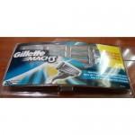 Сменные кассеты картриджи для бритья Gillette Mach 3 (20 шт) EU New версия